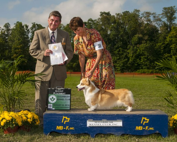Thank you to Judge Mr. Larry Adams GR 4 And Best Bred BY in group
